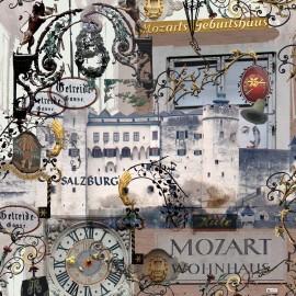 """Seidentuch """"Salzburg-Hohenfeste"""""""